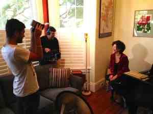 French documentary filmmaker Christian Jeunet interviews Lua http://www.sanfranciscothemovie.com
