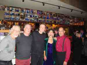 Yoshi's with band members Ian Dogole, Celso Alberti and Larry De La Cruz and Video Director Lawrence Jordan