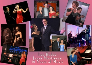 Lua Hadar and Jason Martineau celebrate 10 Years of Music-Making